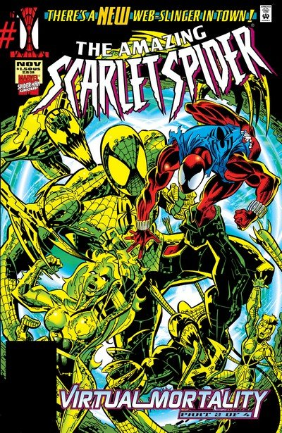 The Amazing Scarlet Spider #1 – 2 (1995)