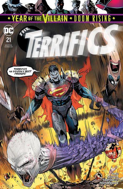 The Terrifics #21 (2019)