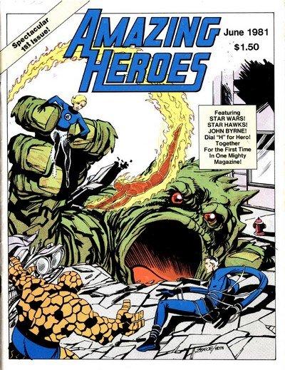 Amazing Heroes #1 – 204 + Extras (1981-1992)