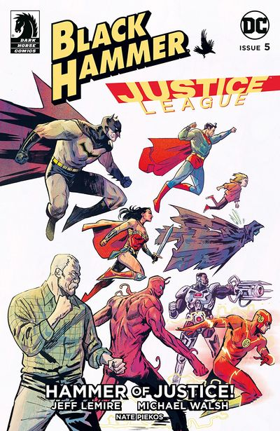 Black Hammer-Justice League – Hammer Of Justice #5 (2019)