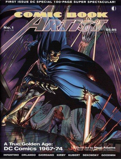 Comic Book Artist #1 – 25 (1998-2003)