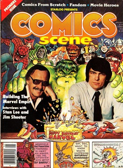 Comics Scene (Collection) (1987-1996)