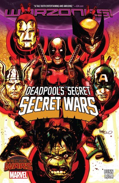 Deadpool's Secret Secret Wars (TPB) (2016)