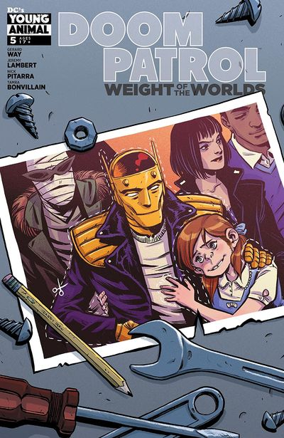 Doom Patrol – Weight Of The Worlds #5 (2019)