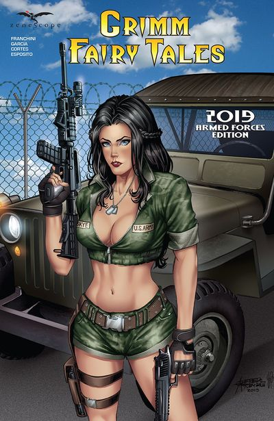 Grimm Fairy Tales 2019 Armed Forces Edition