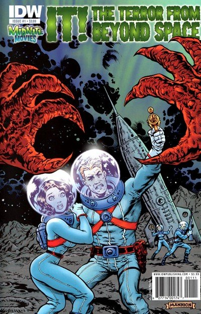 IT! The Terror From Beyond Space #1 – 3 (2010)