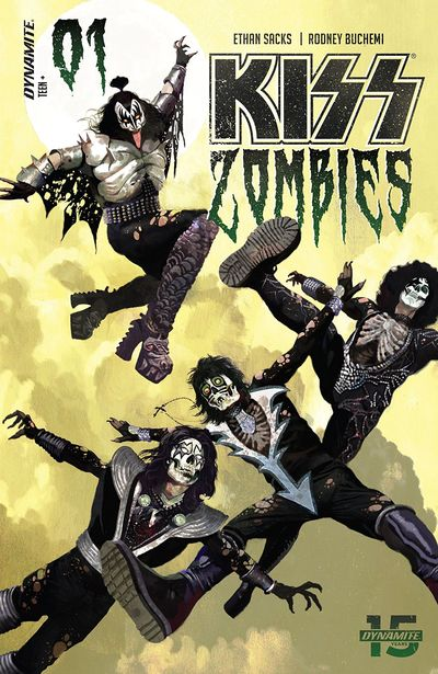 KISS – Zombies #1 (2019)