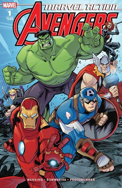 Marvel Action – Avengers #1 – 8 (2018-2019)