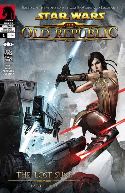 Star Wars – The Old Republic – The Lost Suns #1 – 5 (2011)