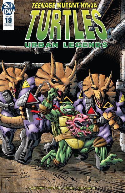 Teenage Mutant Ninja Turtles – Urban Legends #19 (2019)