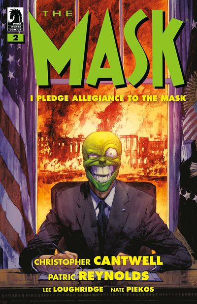 The Mask – I Pledge Allegiance To The Mask #2 (2019)