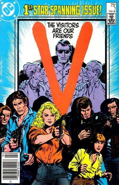V #1 – 18 (1985-1986) (DC Comics)
