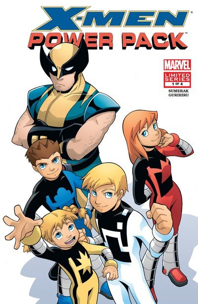 X-Men and Power Pack #1 – 4 (2005-2006)