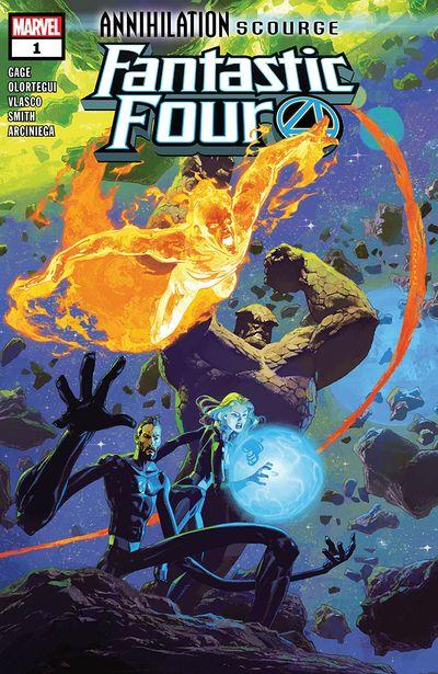 Annihilation – Scourge – Fantastic Four #1 (2019)