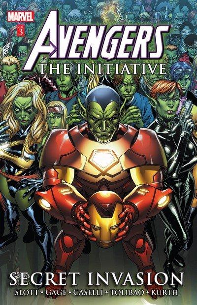 Avengers – The Initiative Vol. 3 – Secret Invasion (TPB) (2013)