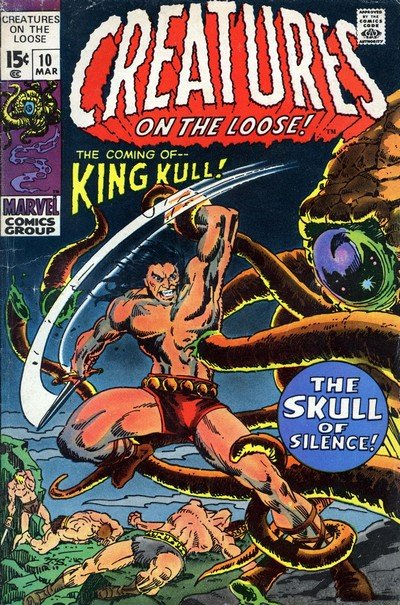 Creatures on the Loose #10 – 37 (1970-1975)