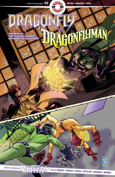 Dragonfly And Dragonflyman #2 (2019)