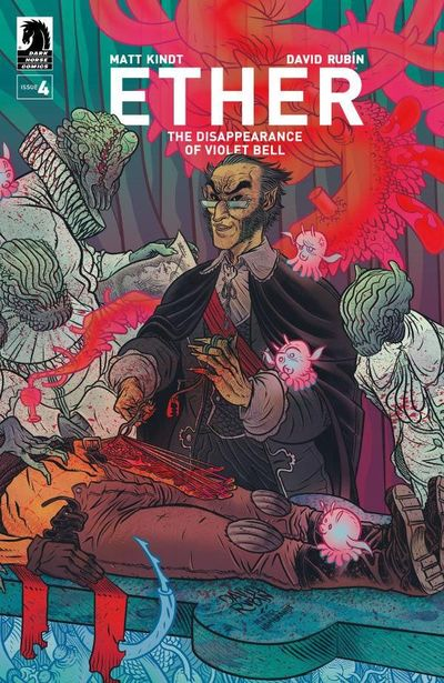Ether – The Disappearance Of Violet Bell #4 (2019)