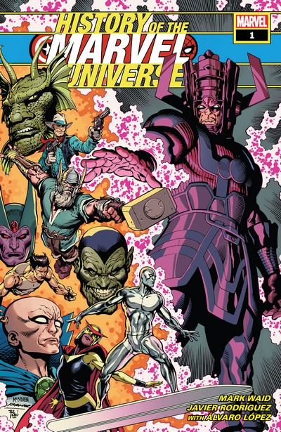 History of the Marvel Universe #1 – 6 (2019)