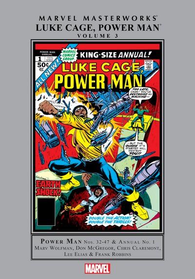 Marvel Masterworks – Luke Cage, Power Man Vol. 3 (2019)