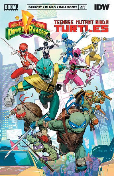 Mighty Morphin Power Rangers – Teenage Mutant Ninja Turtles #1 (2019)