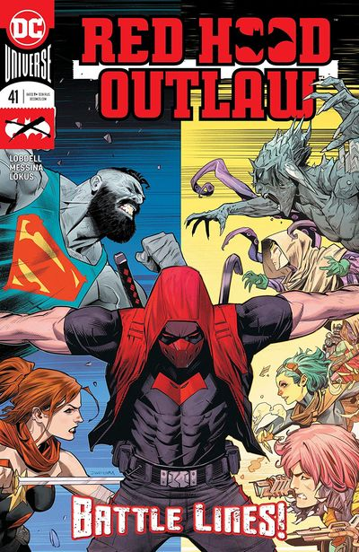 Red Hood – Outlaw #41 (2020)