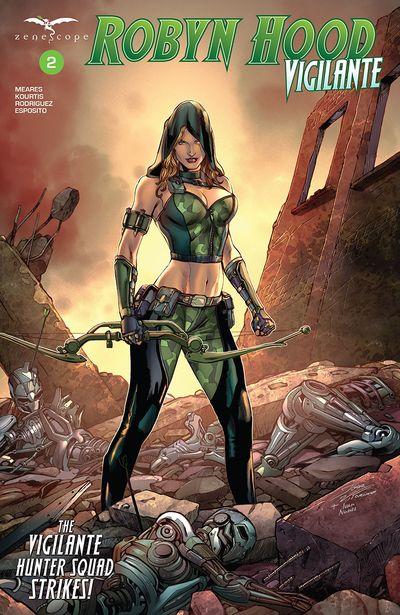 Robyn Hood – Vigilante #2 (2019)