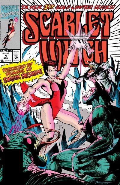 Scarlet Witch Vol. 1 #1 – 4 (1994)