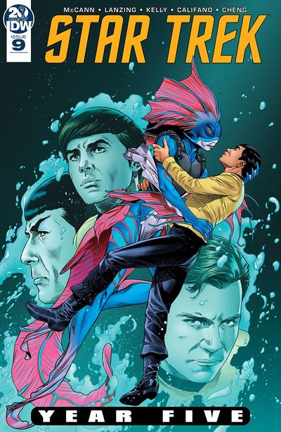 Star Trek – Year Five #9 (2019)