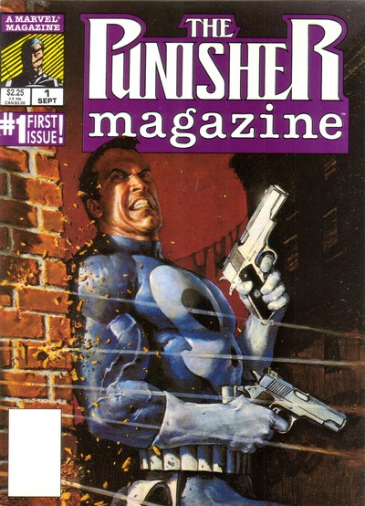 The Punisher Magazine #1 – 16 (1989-1990)