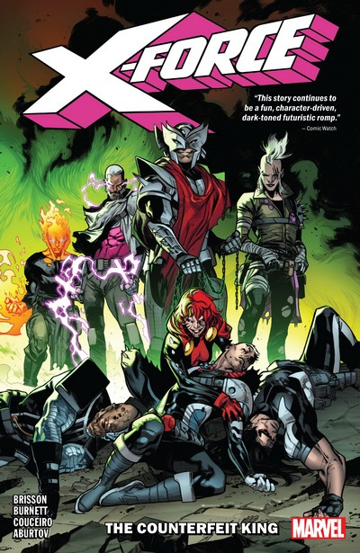 X-Force Vol. 2 – The Counterfeit King (TPB) (2019)