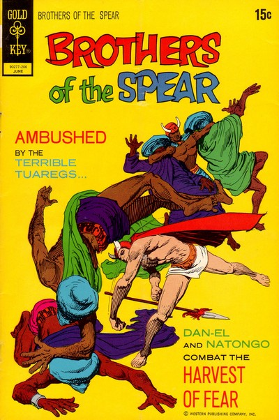 Brothers of the Spear #1 – 18 (1972-1982)