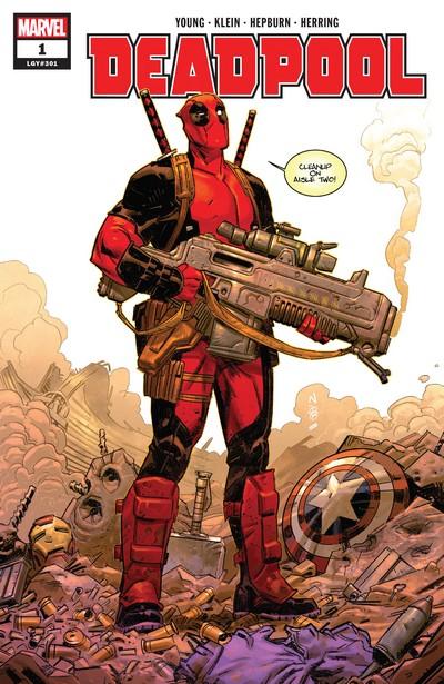 Deadpool Vol. 5 #1 – 15 (2018-2019)