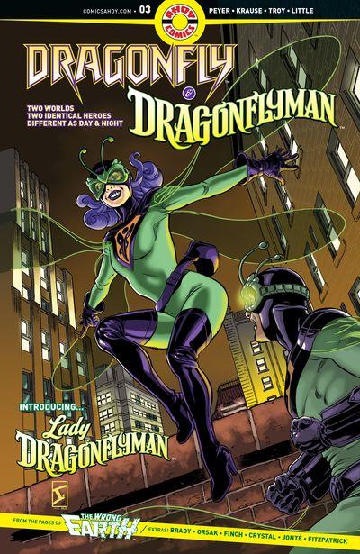 Dragonfly And Dragonflyman #3 (2020)