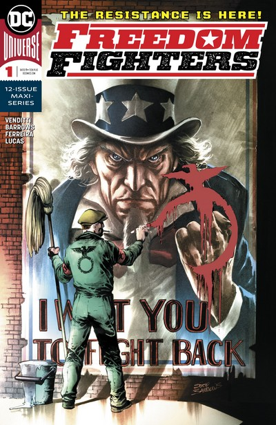 Freedom Fighters #1 – 12 (2019-2020)