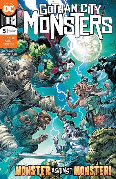 Gotham City Monsters #5 (2020)