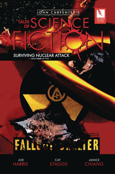 John Carpenter's Tales of Science Fiction – Surviving Nuclear Attack #4 (2019)