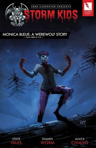John Carpenter presents Storm Kids – MONICA BLEUE – A WEREWOLF STORY #2 (2020)