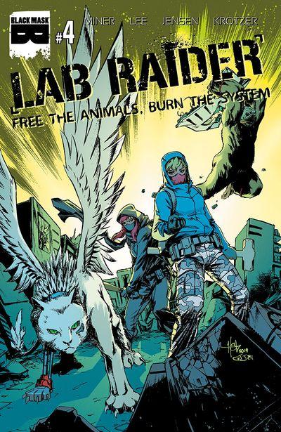 Lab Raider #4 (2020)