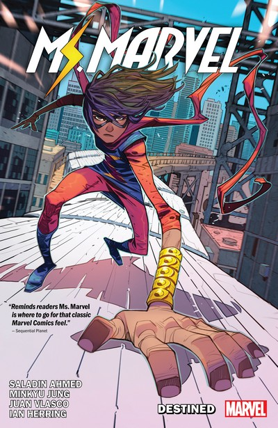 Ms. Marvel by Saladin Ahmed Vol. 1 – Destined (TPB) (2019)