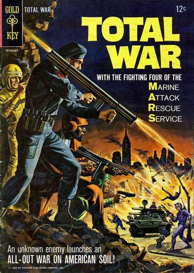 Total War #1 – 2 + M.A.R.S. Patrol – Total War #3 – 10 (1965-1969)