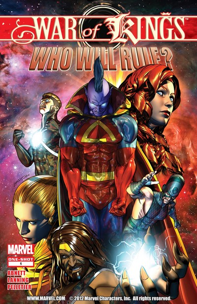 War of Kings – Who Will Rule #1 (2009)