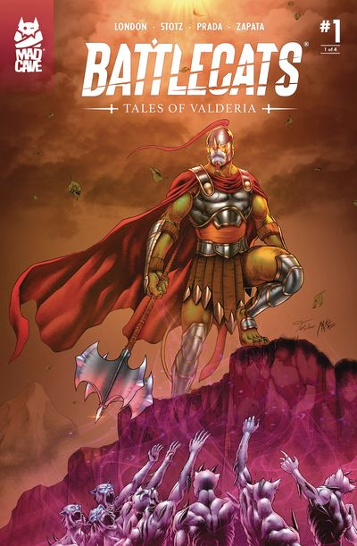Battlecats – Tales of Valderia #1 – 4 (2020)