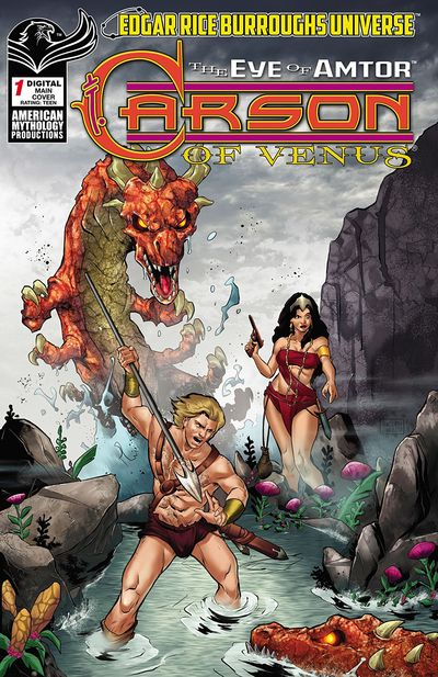 Carson of Venus – The Eye of Amtor #1 (2020)