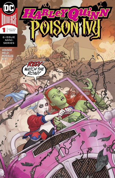 Harley Quinn and Poison Ivy #1 – 6 (2019-2020)