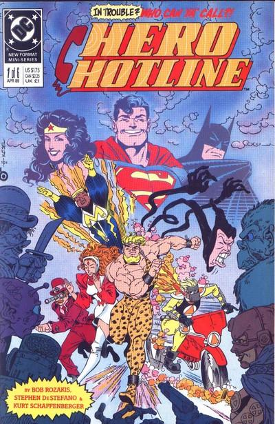 Hero Hotline #1 – 6 (1989)