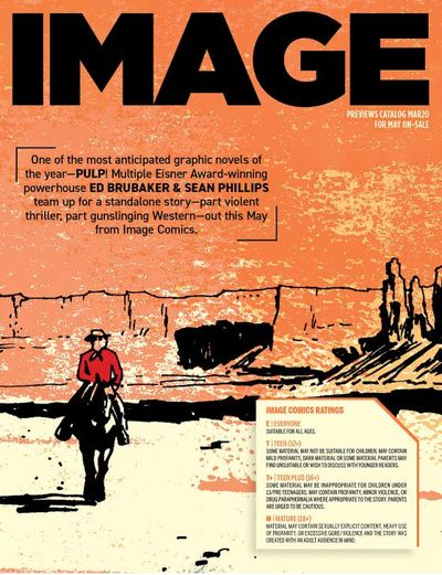 Image Comics Previews March for May 2020