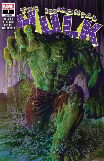 Immortal Hulk #1 – 31 + TPBs (2018-2020)