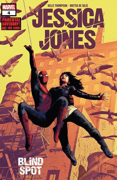 Jessica Jones – Blind Spot #4 (2020)