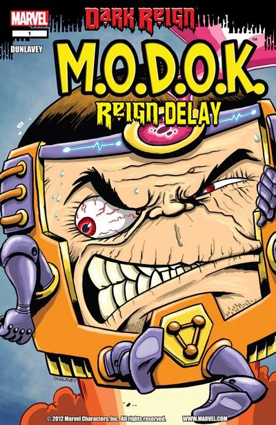 M.O.D.O.K – Reign Delay #1 (2009)